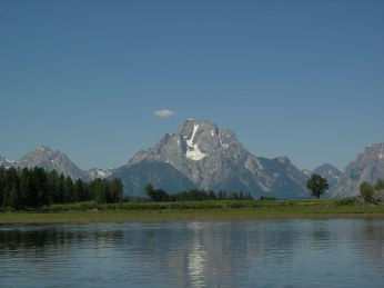 Kayaking in Teton
