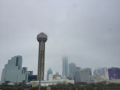 Foggy Day in Dallas