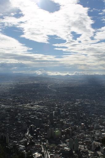 Bogota, from Monteserrat