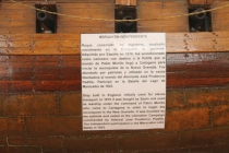 Please note: this is a model of a slave ship that was converted to use in the Colombian navy