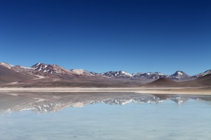 Laguna Blanca - the blank slate of lakes