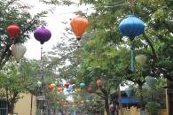 Lantern-laden streets