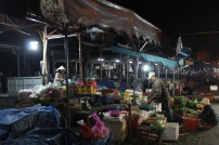 Closing down the market in the evening