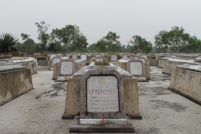 A cemetery for North Vietnamese War Veterans