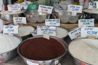 Rice in the market