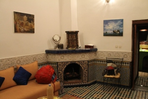 How can I care about silly HuffPost politics when my riad room looks like this?!