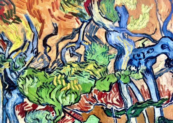 Tree-Roots, van Gogh's last and unfinished work