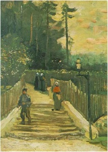Sloping Path in Montmarte