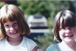 The friend I was going to visit, and I, in a very important stage of dental development, circa 1978