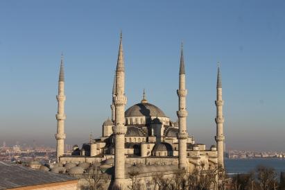 Blue Mosque, daytime