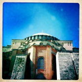Hagia Sofia from the back