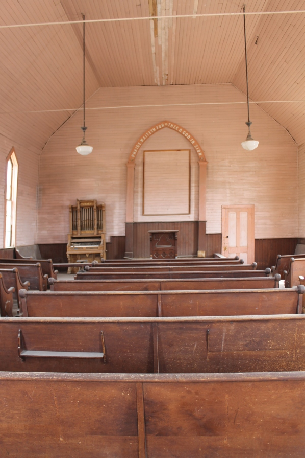 Going to Church in Bodie