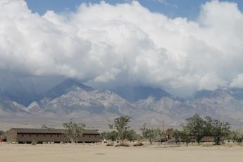 Manzanar 'cabins'