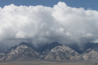 West from Manzanar