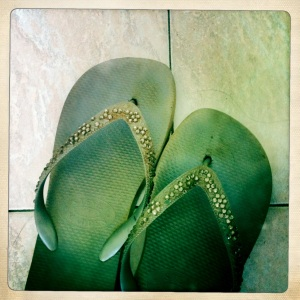 Long-forgotten, still-beloved flipflops